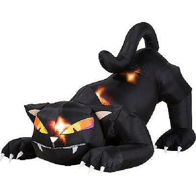$ CDN126.28 • Buy 5 Ft. Animated Airblown Halloween Inflatable Black Cat With Turning Head