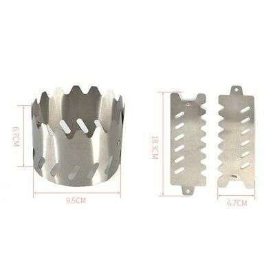 AU12.26 • Buy Supplies Stove Bracket 9.5*6.7cm Portable Stand 2pcs BBQ Burner Camping Cooking