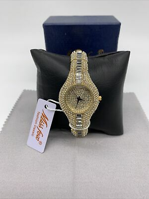 $ CDN36.38 • Buy MISSFOX Womens Watch Shockproof Waterproof Luxury Metal Watch Diamond Rhinestone