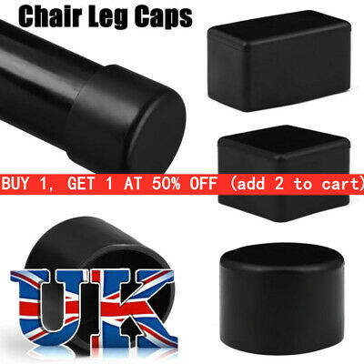 £3.99 • Buy 4pc Chair Leg Caps Rubber Feet Protector Pads Furniture Table Leg Dust Cover
