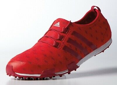 $ CDN49.87 • Buy Adidas Ballerina Prime Knit Ladies Golf Shoes-Color Red #F33499