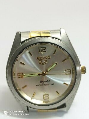 $ CDN12.09 • Buy Seiko 5 Crystal Automatic 7123-8510 P Men Watch As-is To Parts Or Repair