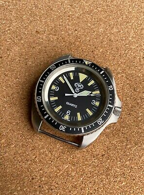 $ CDN1022.75 • Buy CWC British Military Issued Divers Watch Year 1996 Royal Navy