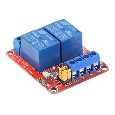 AU4.86 • Buy 5V 2 Channel Relay Module With Optocoupler Isolation High/Low Level Trigger