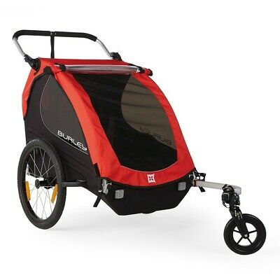 £501.61 • Buy Tow Bike For Children Honey Bee 2 Places 47,5l Red 3091953100 Burley Transp