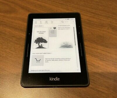 £18 • Buy Amazon Kindle Voyage (7th Generation) 4GB Wi-Fi + 3G 6 Inch
