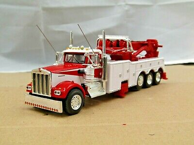 $ CDN124.02 • Buy Dcp Custom Red/white KW W900A Tri Axle Rotator Wrecker 1/64