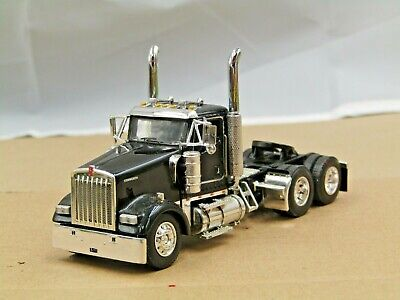 $ CDN12.70 • Buy Dcp Black Kenworth W900L Daycab Tractor Only No Box 1/64