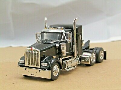 $ CDN104.06 • Buy Dcp Black Kenworth W900L 38  Sleeper Tractor Only No Box 1/64