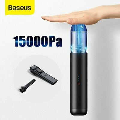 AU73.09 • Buy Baseus 15000Pa/5000Pa Car Vacuum Cleaner 135W  Strong Suction Handheld Duster