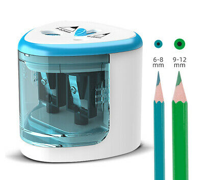 £7.55 • Buy NEW Pencil Sharpener Electric Automatic Battery Operated School Stationery UK
