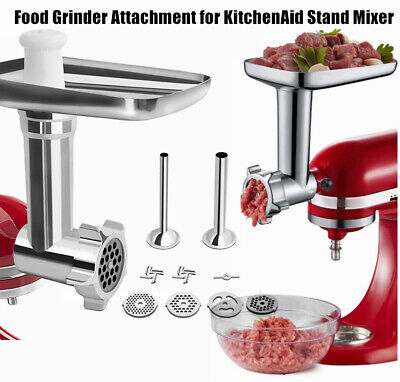 £19.99 • Buy Metal Meat Grinder Stuffer Attachment Kit For Kitchenaid Stand Mixer UK STOCK