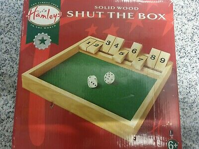 £8.99 • Buy 808 Hamleys Boxed Wooden Shut The Box Game