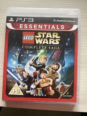 £4.99 • Buy Lego Star Wars The Complete Saga Playstation 3 PS3 Essentials Complete Manual
