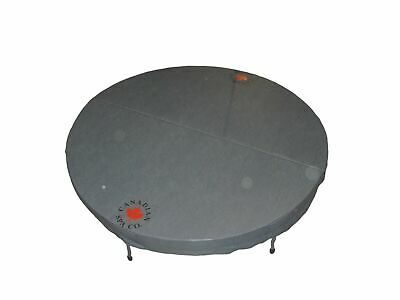£349.99 • Buy Canadian Spa Round Deluxe 78 /198cm Diameter Hot Tub Cover - GREY
