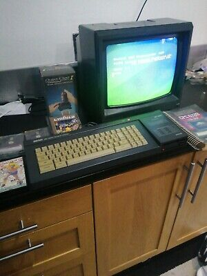 £379.99 • Buy Amstrad CPC 6128 With Amstrad Colour Monitor Games Joystick Instructions