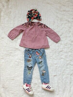 £9 • Buy Baby Girls Retro Clothes Bundle 12-18 Months/Next 4 Items