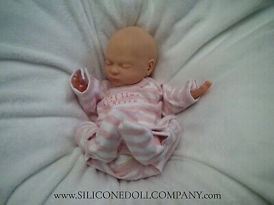 $ CDN1235.82 • Buy ▪ The Silicone Doll Company▪ PAINTED Real Full Body Baby Girl Doll ▪