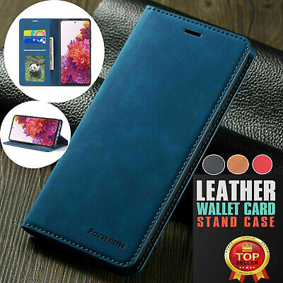 $ CDN4.92 • Buy F Samsung S21 Note 20 Ultra S10 S9 Case Magnetic Flip Leather Wallet Case Cover