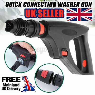 £8.78 • Buy Pressure Washer Trigger Lance Gun Variable Nozzle W/ Safety Lock For LAVOR VAX