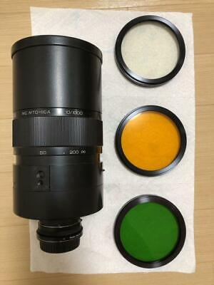 £212.18 • Buy MC MTO-11CA 1000mm F10 Telephoto Lens From Japan Excellent Free Ship W/Comverter