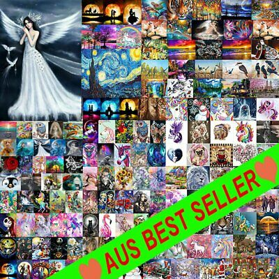 AU11.11 • Buy 5D Full Drill Diamond Painting Kits Embroidery Cartoons Picture Decor Arts HGRT