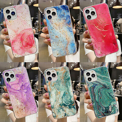 AU8.99 • Buy For IPhone 12 Pro Max 12 Mini XS XR 7 8 11 Case TPU Marble Soft Ultra Slim Cover