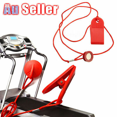 AU8.97 • Buy Treadmill Safety Key Running Machine Magnetic Security Switch Lock Fitness HG