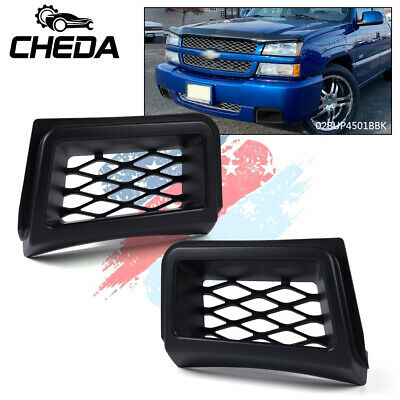$35.99 • Buy Front Bumper Air Duct Grille Insert Cover Fit For 03-07 Chevrolet Silverado 1500