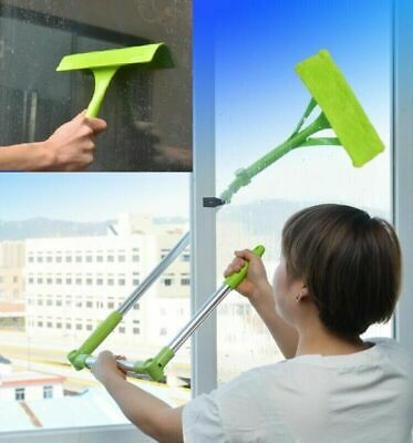 £17.77 • Buy U-type Telescopic High Rise Window Cleaner Glass Dust Cleaning Tool Squeegee Hot