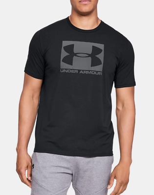 $18.79 • Buy New With Tags Under Armour Men's Logo Tee Top Athletic Muscle Gym Shirt