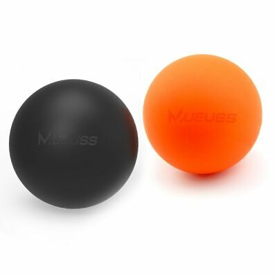 AU40.03 • Buy Lacrosse Massage Ball Foot Neck Fitness Tissue Muscle Back Body Yoga Pain Relief