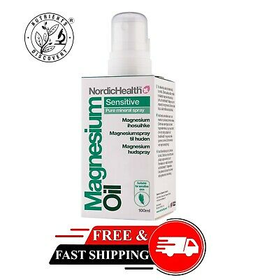 £8.37 • Buy BetterYou Magnesium Oil Sensitive Body Spray For Joints And Muscle Free P&P