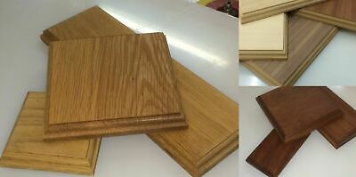 £18 • Buy Wood Display Bases And Plinths CUSTOM MADE Sizes