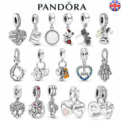 £7.98 • Buy Genuine Authentic Silver Pandora Safety Chain Charm ALE S925 With Free Gift Bag