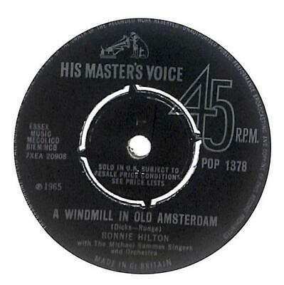 £4.99 • Buy Ronnie Hilton - A Windmill In Old Amsterdam - 7  Vinyl Record