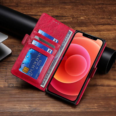 AU13.23 • Buy For OPPO R15 Pro Luxury PU Leather Magnetic Flip Card Wallet Phone Case Cover