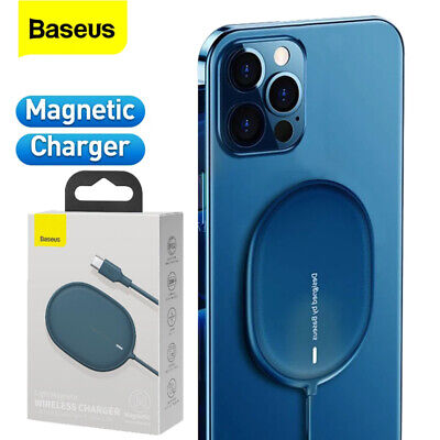 AU19.99 • Buy Baseus 15W Qi Magnetic Wireless Fast Charging Charger Pad For IPhone 12 Samsung
