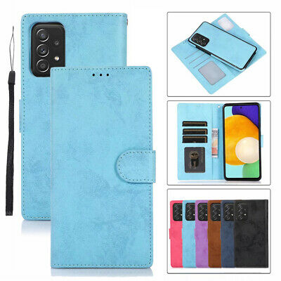 AU14.99 • Buy For Samsung S21+ Ultra S20 Note 20 S10 Leather Magnetic Wallet Card Case Cover
