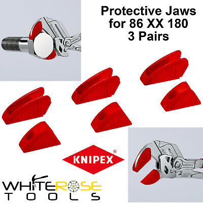 £11.45 • Buy Knipex Protective Jaw Covers Optimised Pliers Wrench 3 Pairs 180mm 86 09 180 V01