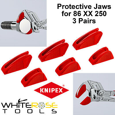 £11.85 • Buy Knipex Protective Jaw Covers Optimised Pliers Wrench 3 Pairs 250mm 86 09 250 V01