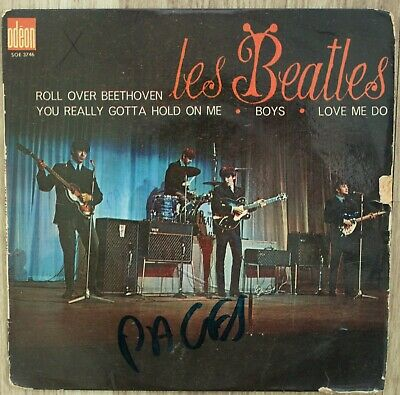 £19 • Buy The Beatles Roll Over Beethoven ,french Odeon 4 Track Ep Good Condition