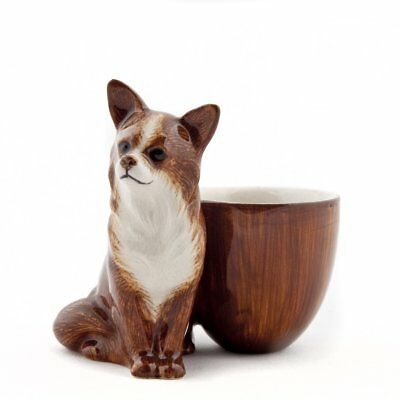 £16.50 • Buy Quail Ceramics   Egg Cup With Chihuahua