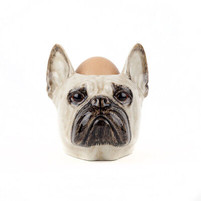 £12.95 • Buy Quail Ceramics      Face Egg Cup  French Bull Dog - Fawn