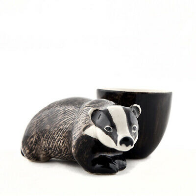 £15.75 • Buy Quail Ceramics  Egg Cup With Badger.