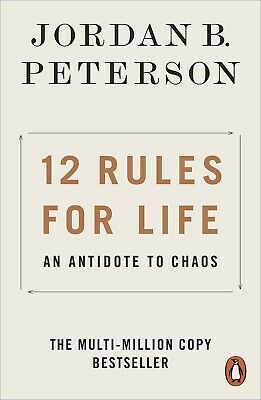 AU16.75 • Buy 12 Rules For Life: An Antidote To Chaos Jordan Peterson PAPERBACK-AU
