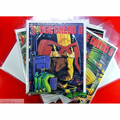 £9.99 • Buy Graphic Novel Comic Magazine Size Bags  Sleeves And Boards For Collectors. X 10