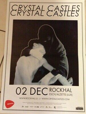 £39.24 • Buy Crystal Castles - 40x60cm - RARE POSTER ROLLED