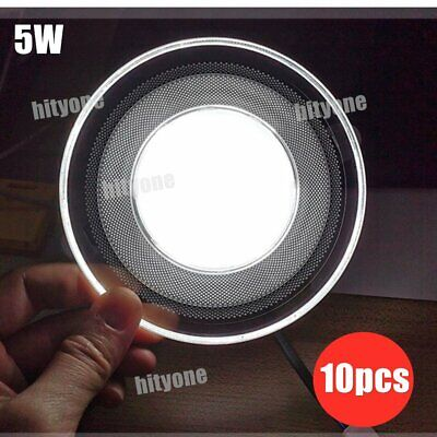 £10.38 • Buy 1-10pcs Recessed Light LED Panel Downlights Ceiling Spot Lamp Dimmable 3 Color