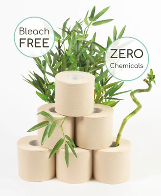 AU29.95 • Buy 100% Bamboo Toilet Paper Fast Dissolving 24 Extra Large Rolls. Natural
